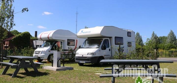 Aire camping-car à Estaires (59940) - Photo 3